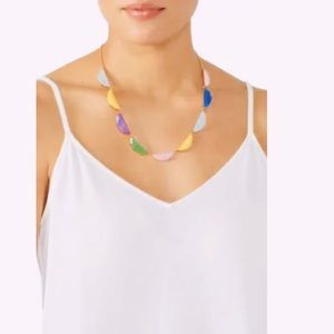 Kate Spade New York Half Moon Scallop Collar Necklace NWT